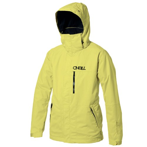 O'Neill 52 Series Silicone Chip Men's Snow Jacket - Poison Yellow, Medium