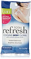 Ban Total Refresh Cooling Body Cloths Invigorate 30 Count