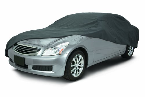 Classic Accessories 10-014-261001-00 OverDrive PolyPro III Heavy Duty Full Size Sedan Car Cover (Toyota Camry Accessories 2003 compare prices)