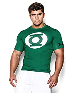 Under Armour Men's Alter Ego Short Sleeve Compression Shirt 3XL Classic Green