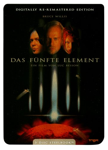 Das fünfte Element - (Re-Remastered Edition, 3 DVDs im Steelbook)