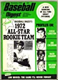 Pro Baseball Digest November 1972 MLB (Steve Carlton cover photo)