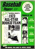 Pro Baseball Digest November 1972 MLB (Steve Carlton cover photo)