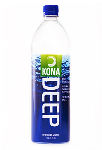 Kona Deep: Deep Ocean Drinking Water, Case of 12, 1L Bottles (Drinking Water Cases compare prices)