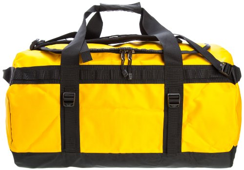 The North Face, Borsa da viaggio Base Camp Duffel, Giallo (summit gold-black), 61 x 38 x 38 cm