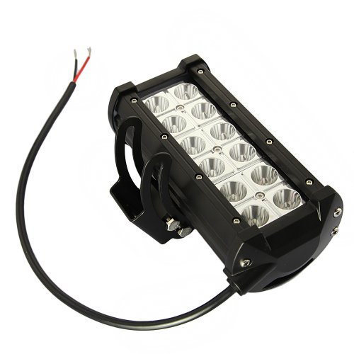 Tabstore 7Inch 36W 6500K Led Work Lamp Spotlight 4X4 Off Road Driving Light, 9-32V Dc, 2520 Lumen, 30000 Hours Working Life