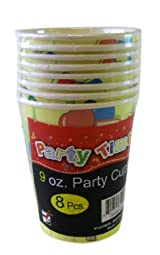 Party Time 9oz. Party Cup Pack - Party Paper Cups (8pk)
