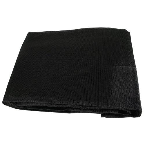 10 x 10 Black Mesh Shade Cover Canopy Netting Tarp NEW