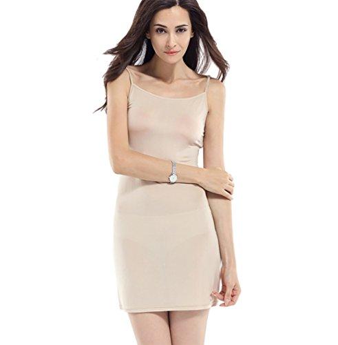 Baymate-Damen-Underwear-Knielanges-Unterkleid-Klassische-Hemdrock-Unterrock