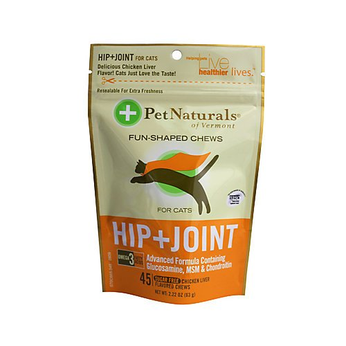 Pet Naturals Vermont Hip N Joint Cats Chicken Chws