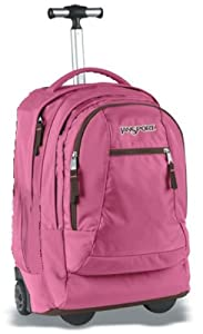 JanSport Driver 9 Wheeled Suitcase (Pink Daiquiri) from JanSport