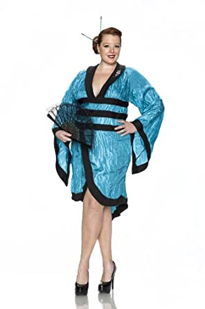 Amazon.com: Delicious Plus-Size Gorgeous Geisha Costume: Clothing