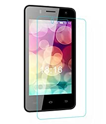 AryaMobi Tempered Glass Screen Guard Protector for Intex Aqua Q3