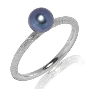 Valero Pearls - 60201740 56 - Bague Femme - Perle d'eau douce - T 56 (17.8)