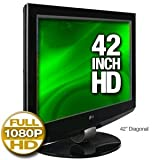"LG 42LBX - 42"" LCD TV - 120Hz - widescreen - 1080p (FullHD) - HDTV 1080p - glossy black"