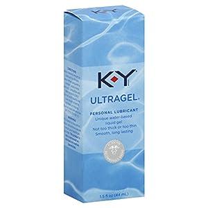 K-Y UltraGel Personal Water Based Lubricant, 1.5 Ounce