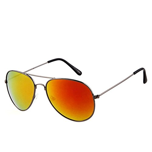Y-H Sweethearts Eyewear Aviator Classic Wayfarer Colorful Driving Outdoor Sunglasses(C17)