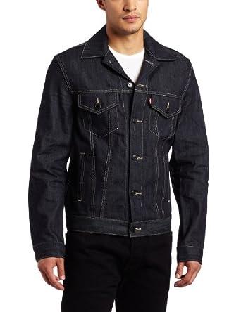 (降价)Levi's Men's Trucker Jean Jacket 李维斯男子牛仔夹克 rigid $62.4