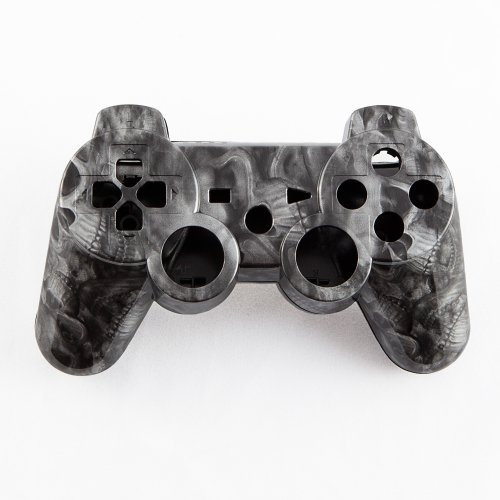 Sea Of Skulls Hydro-Dipped Custom Controller Shell For Ps3 front-307058
