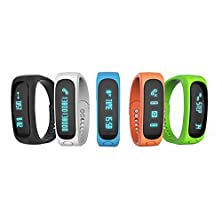 buy Loverbuyer® E02 Smart Bracelet Sport Bluetooth Bracelet Smart Watch With Bluetooth Self Photo Function Activity Tracker Healthy Silicone Wristband Time/Caller Id/Alarm/Pedometer Sleep Monitor For Ios Android Standard Usb Plug Charger On Computer Usb Port