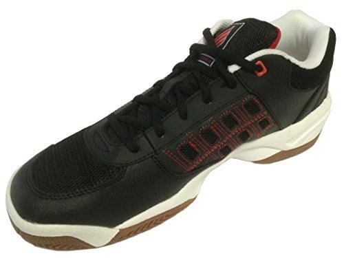 Ektelon Nfs Classic Ii Low Racquetball Shoe White Black Red