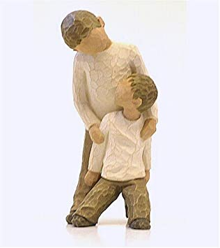 #!Cheap Brothers Figurine by Willow Tree