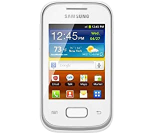 Samsung Galaxy Pocket S5300 Unlocked GSM Phone with 3G, Android 2.3 OS, 2MP Camera, GPS and Wi-Fi - White