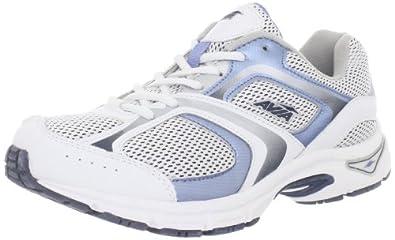 AVIA  Women's A5023W Running Shoe,White/Light Blue/Navy,11 M US