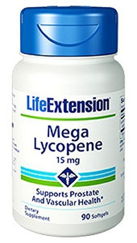 Life Extension Mega Lycopene Extract 15mg Softgels, 90-Count by Life Extension (Lycopene Extract compare prices)