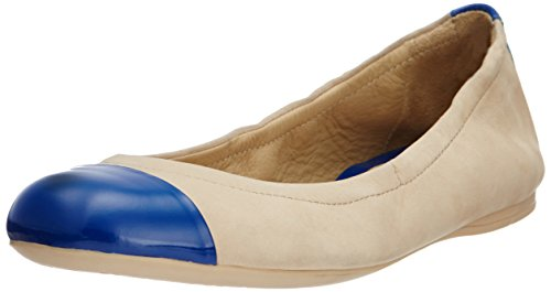 Geox Geox Women's Leather Ballet Flats (Multicolor)
