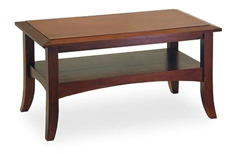 Craftsman Coffee Table Antique Walnut Finish