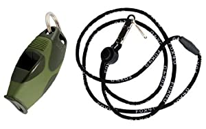 Fox 40 Sharx Whistle with Lanyard by Fox 40