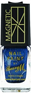 Barry M Cosmetics Nail Polish Magnetic Blue 10ml