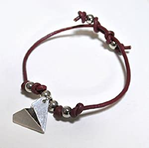 Stainless Steel Harry Styles Paper Airplane (One Direction Fan) Bracelet