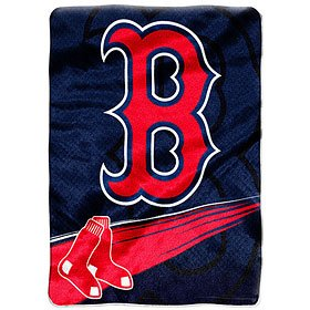 MLB 60x80 Royal Plush Raschel Throw Blanket