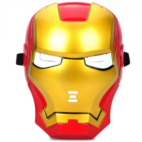 Cosplay Tough Man Mask With Blue Lite-Up Eyes (3 * L1154) By Preciastore