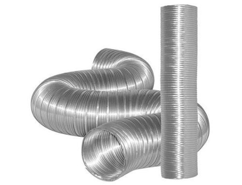 "Dundas Jafine 5"" X 8' Flexible Aluminum Ducting front-570748"