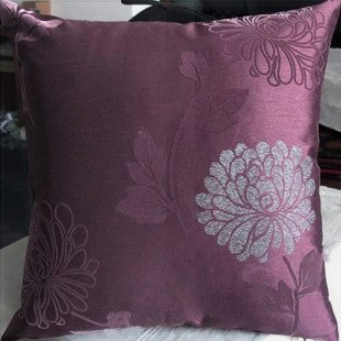 ElleWeiDeco Decorative Palevioletred Floral Throw Pillow Cover