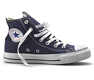 Converse Chuck Taylor All Star Hi, Navy, 10(M)/12(W) US