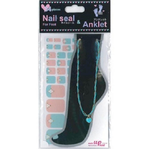 Nail seal & Anklet for Foot ネイルシール & アンクレット NSLーA004