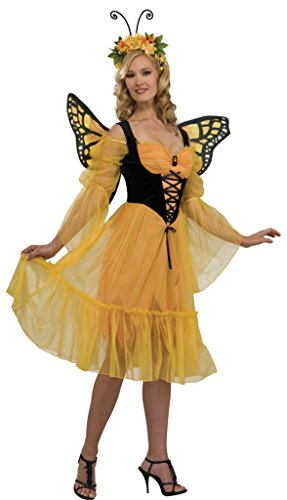 Rubies Womens Fantasy Insects Monarch Butterfly Sexy Adults Halloween Costume