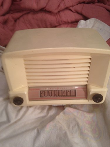 Vintage/Antique General Electric Portable Picture Tube Type Am Radio 1940'S Model#114Wp