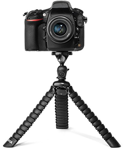 flexible-tripod-for-dslr-mirrorless-and-slr-cameras-by-loha-extra-large-size-supports-many-camera-ty