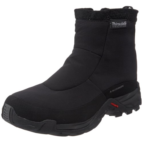 Salomon Men's Tactile TS WP Winter Boot,Black,10 M US