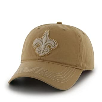 NFL New Orleans Saints Mens Badger Cap, One Size, Light Gold by