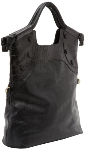 Foley + Corinna FC Lady 9900242 Tote,Black Croc Combo,One Size