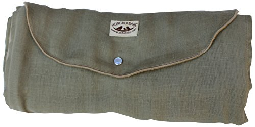 Poncho Baby Organic Blanket, Roly Blanket, Olive/Beige