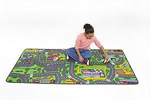 Amazon Com Learning Carpets City Life Play Carpet Toys
