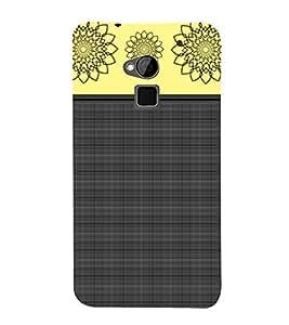 Rangoli design Cute Fashion 3D Hard Polycarbonate Designer Back Case Cover for HTC One Max :: HTC One Max Dual SIM