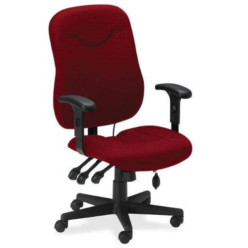 Mayline 9414AG2112 - Comfort Series Executive Posture Chair,